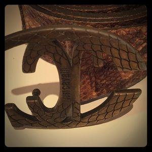 Roberto Cavalli soft leather belt